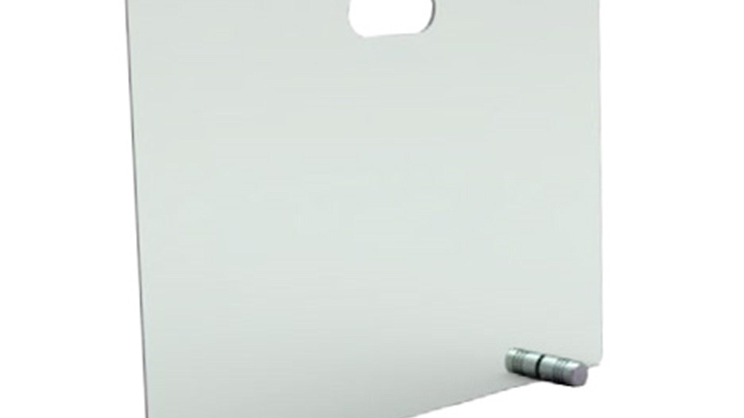 Opprinnelig GNISTFANGER I GLASS H50xB65cm, m/2 ben fra Seljord Varmeservice ZL-15