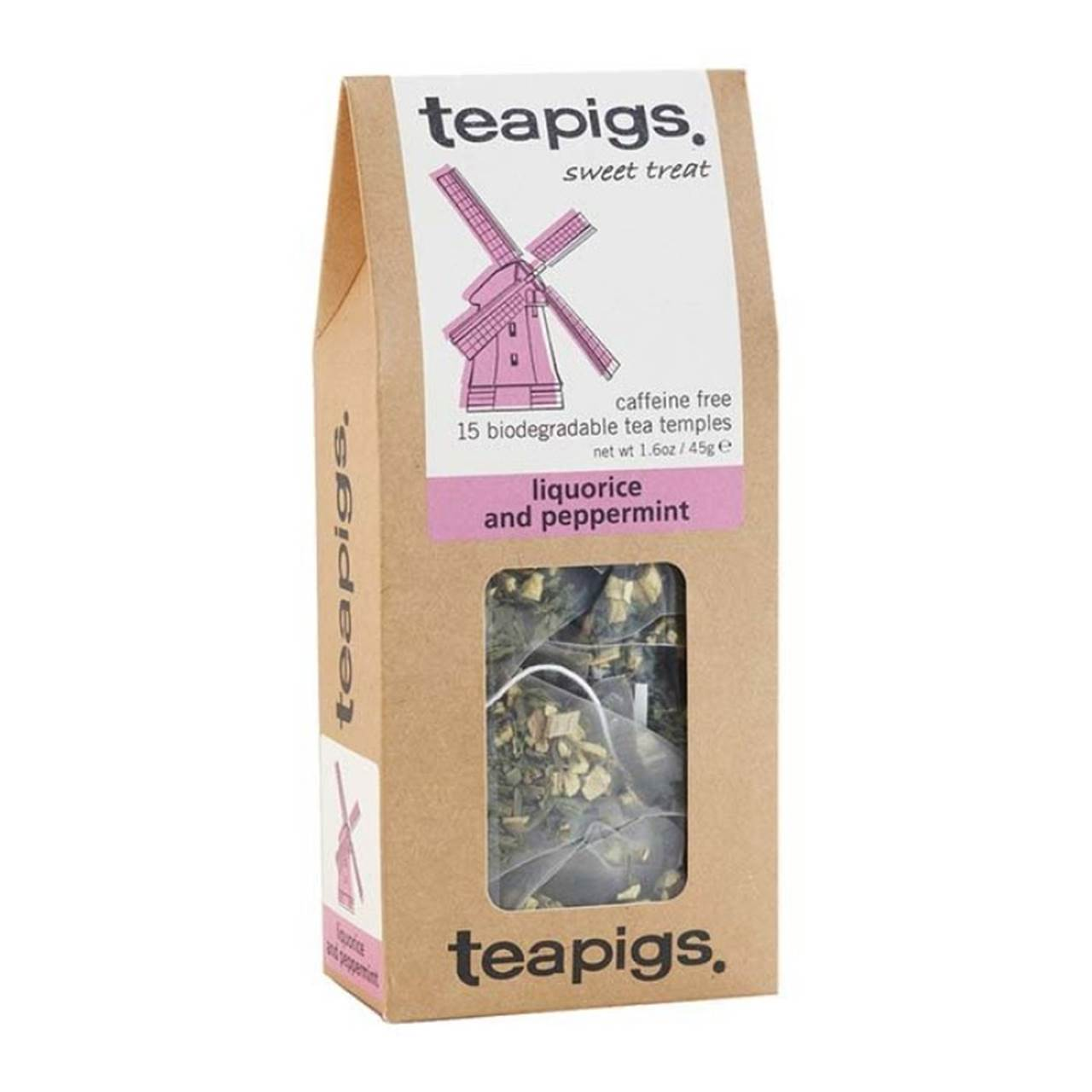Liquorice and peppermint - Teapigs