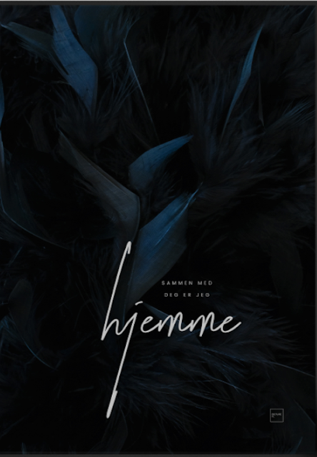 Hjemme - poster 30x40