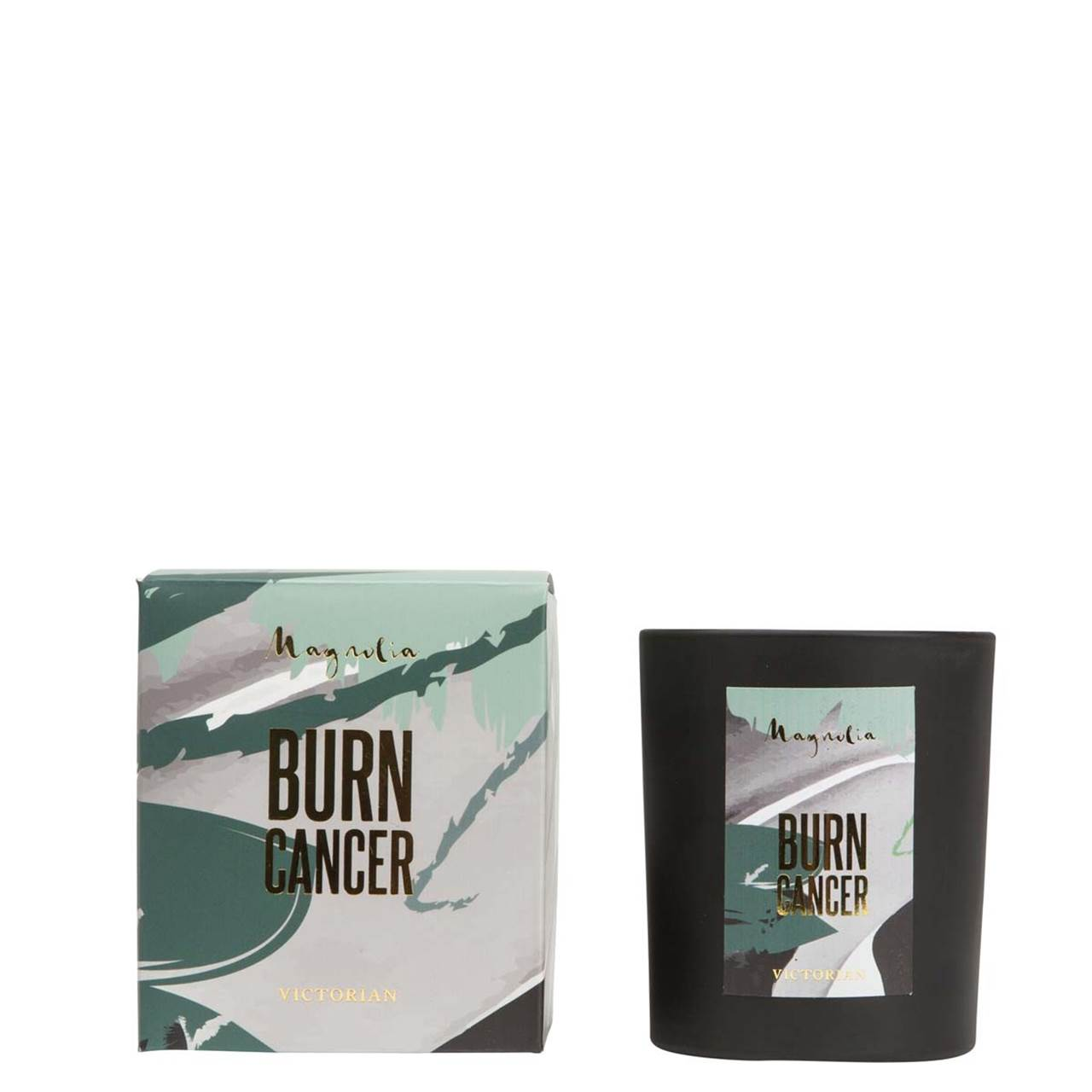 Burn Cancer - duftlys -magnolia