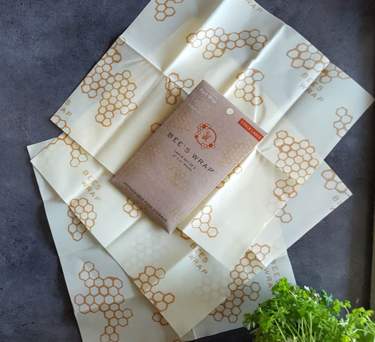 Bees Wrap - 3 ark Large