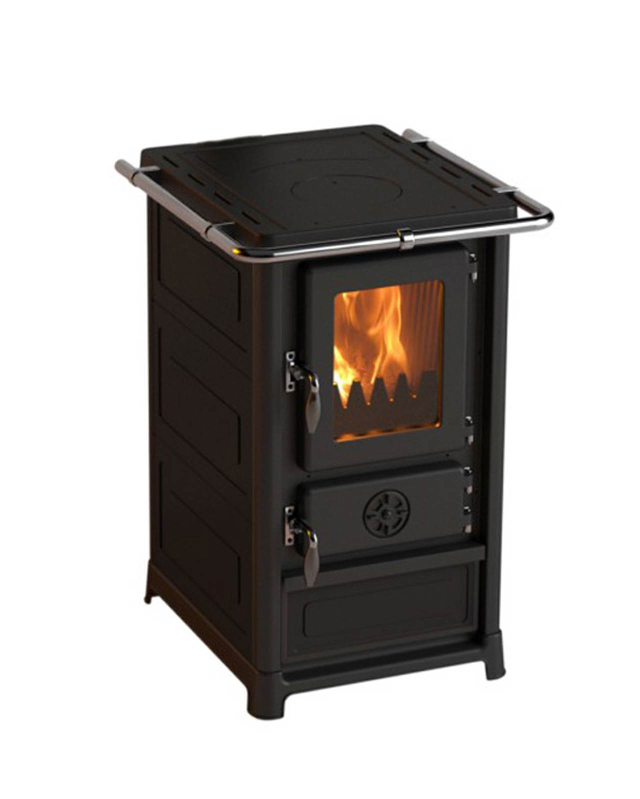 Olymp kjøkkenkomfyr, svart stål