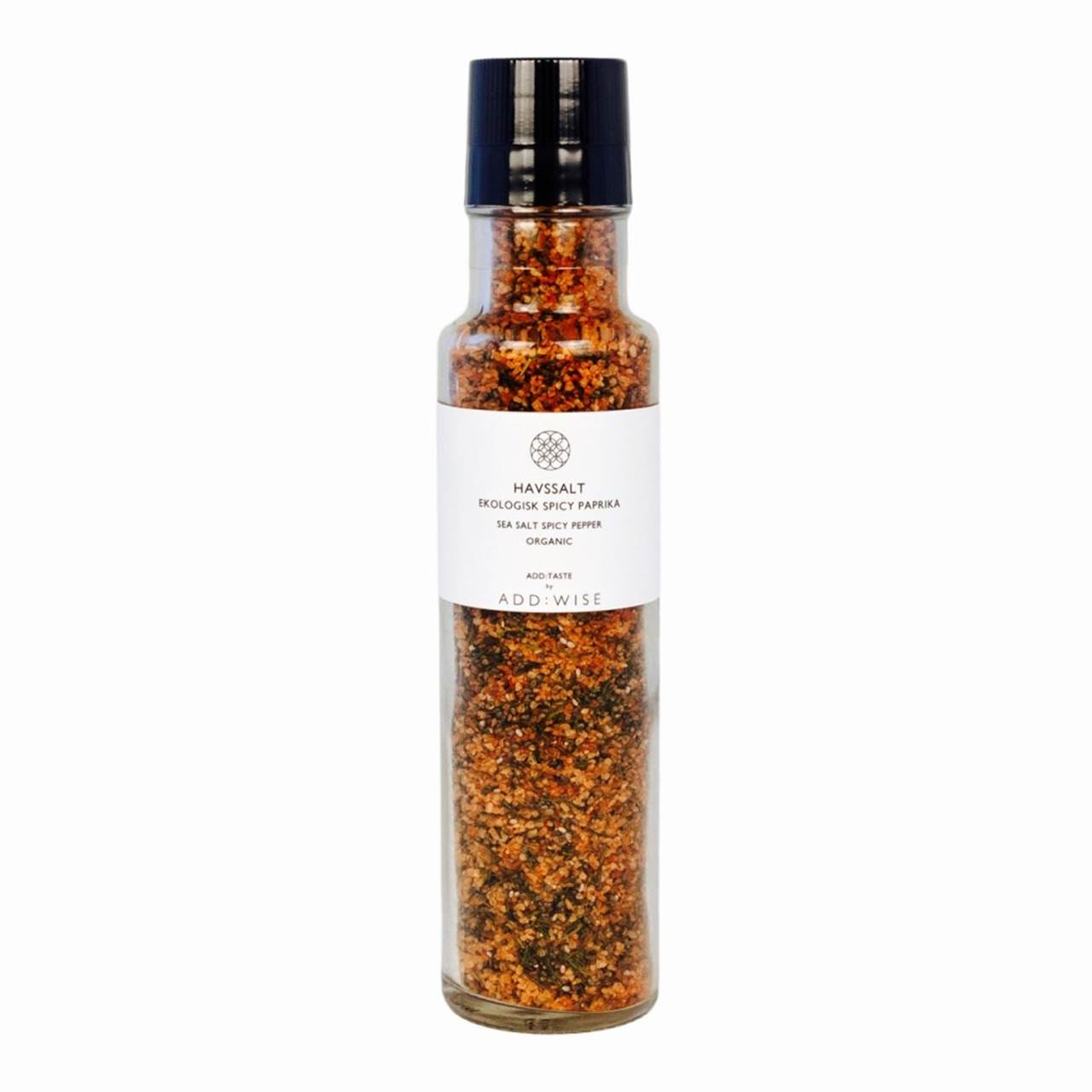 Krydderkvern Havsalt Spicy Paprika økologisk - ADD:WISE