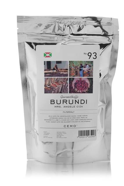 Kaffe Burundi - fair trade - filtermalt