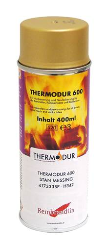 Thermodur 600 - varmebestandig lakk, messing