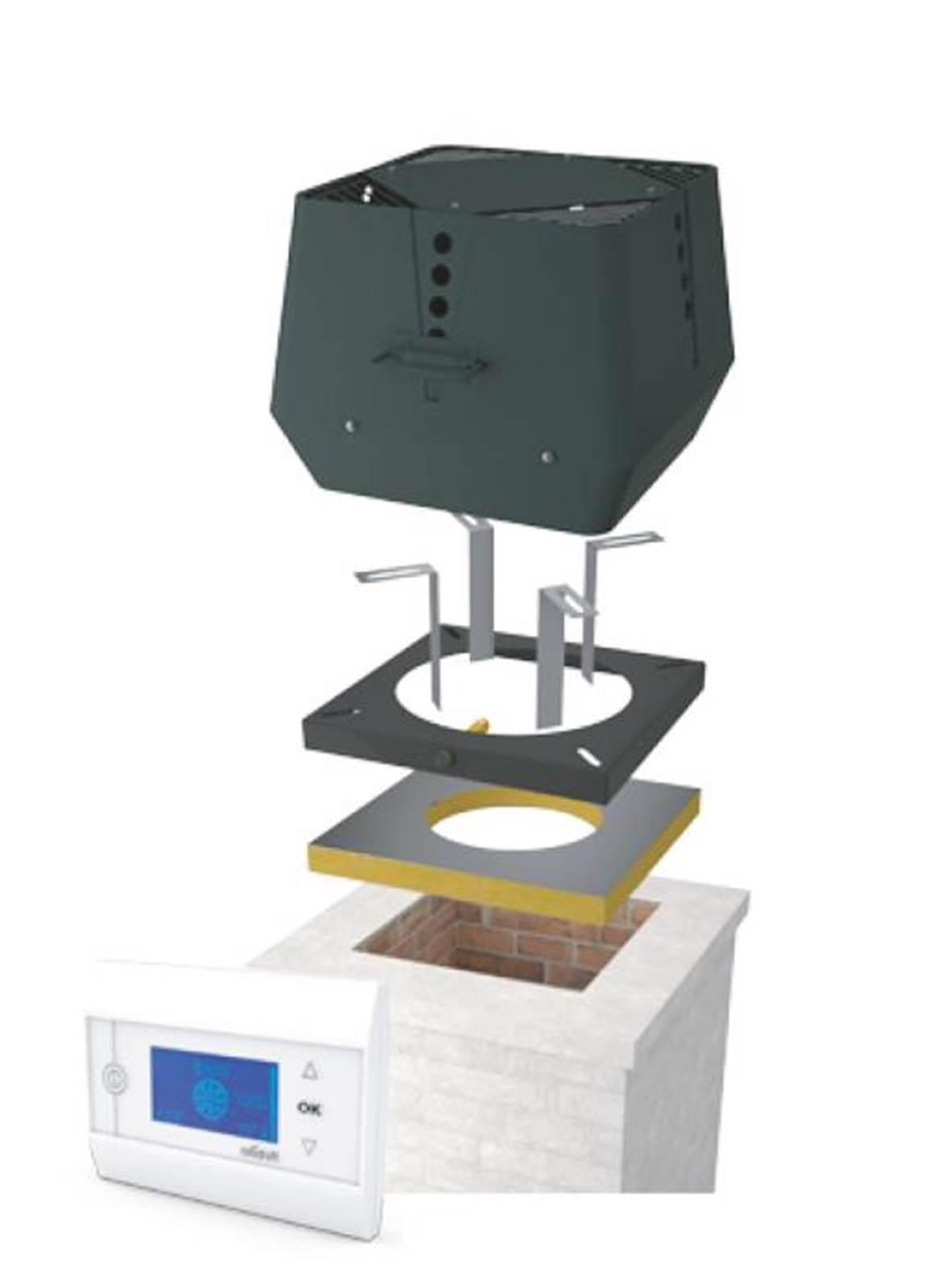 Exodraft røyksugerpakke 6 RSV-012 / EW 41