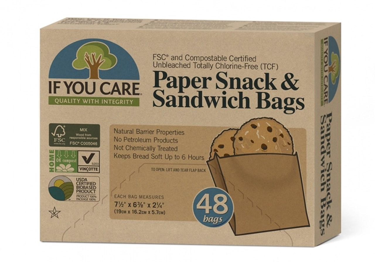 "If You Care ""BrownBag"" Sandwich fra Siloen gardsbutikk"